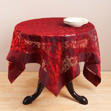 Flocked Table Topper