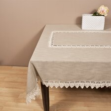 Lace Trimmed Table Cloth