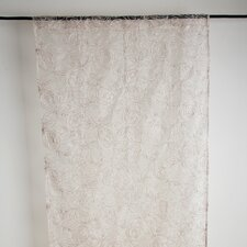 Rose Curtain Single Panel