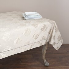 Drawnwork Damask Table Cloth