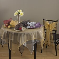 <strong>Saro</strong> Dotted Organza Table Topper