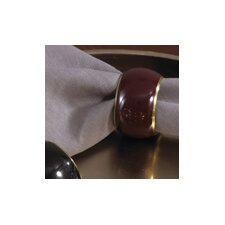 Enamel Napkin Ring (Set of 4)