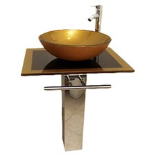 <strong>Kokols</strong> Vessel Sink Bathroom Vanity Set