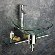 Vessel Sink Bathroom Vanity Set