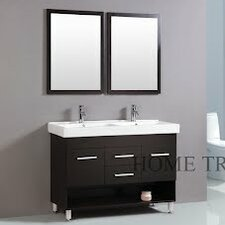"48"" Double Sink Bathroom Vanity Set"