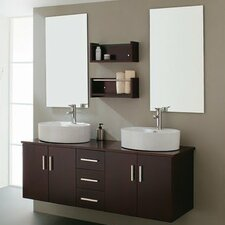 "59"" Double Sink Bathroom Vanity Set"
