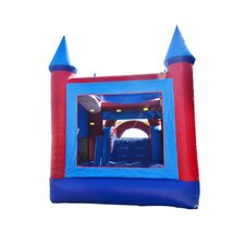Patriot Mega Wet/Dry Inflatable Commercial Grade Bouncy House and Slide Combo
