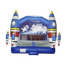 Space Adventure Mega Inflatable Commercial Grade Bouncy House and Slide Combo