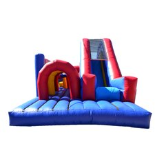 Rainbow Xtreme Inflatable Commercial Grade Obstacle Course