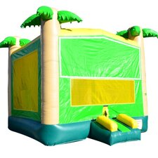 Tropical Commercial Grade Inflatable Bouncy Castle
