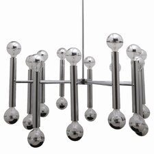 Galileo Pendant Lamp in Chrome