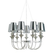 Getty Pendant Lamp in Chrome