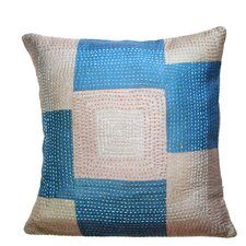 Geneva Silk Artisan Crafted Pillow