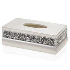 Brushed Nickel Tissue Box