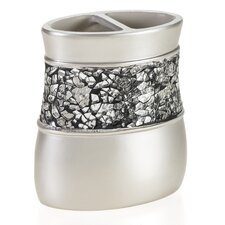 <strong>Creative Scents</strong> Brushed Nickel Toothbrush Holder