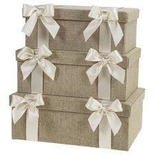 Sand Dunes Storage Box (Set of 3)