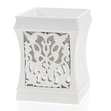 Brocade Mirror Wastebasket