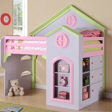 Princess Twin Loft Bed