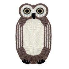 Crochet Owl Kids Rug