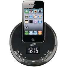 <strong>iLive</strong> iPhone AM/FM Alarm Clock Radio Sphere