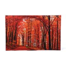 The Red Way Photographic Print by Philippe Sainte-Laudy on Canvas