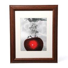 """""""Red Apple Splash"""" by Roderick Stevens Framed Photographic Print"""