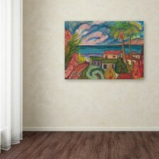 """Manor Shadian """"All is Quiet"""" Canvas Art"""