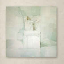 Daniel Cacouault 'White' Canvas Art