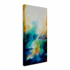 'Aqua Breeze' by CH Studios Canvas Art