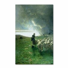 'After Storm' by Giovanni Segantini Painting Print on Canvas