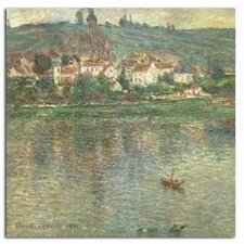 'Vetheuil 1901' by Claude Monet Painting Print on Canvas