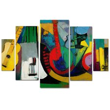 'Strings' by Boyer Multi Panel Art Set