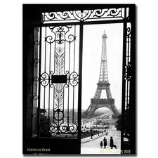 """""""Views of Paris"""" by Sally Gall Photographic Print on Canvas"""