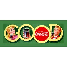 <strong>Trademark Fine Art</strong> Coca Cola Good Coke Stretched Canvas Print