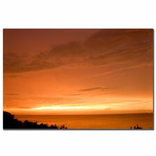 "<strong>Trademark Fine Art</strong> Golden Lake by Kurt Shaffer, Canvas Art - 16"" x 24"""