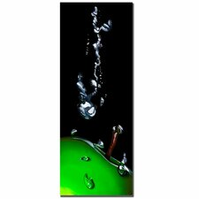 "<strong>Trademark Fine Art</strong> Granny Splash by Roderick Stevens, Canvas Art - 32"" x 12"""