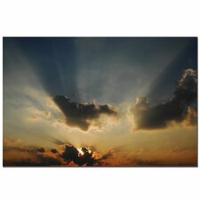 'Beautiful Sky II' by Kurt Shaffer Photographic Print on Canvas