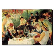 """""""Luncheon of the Boating Party"""" by Pierre Renoir Painting Print on Canvas"""