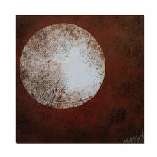 "<strong>Trademark Fine Art</strong> Moon by Nicole Dietz, Canvas Art - 22"" x 18"""
