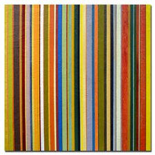 "<strong>Trademark Fine Art</strong> Comfortable Stripes by Michelle Calkins, Canvas Art - 24"" x 24"""