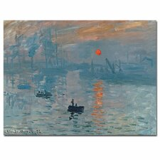 Impression Sunrise by Claude Monet Canvas Art