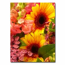 "<strong>Trademark Fine Art</strong> ""Spring Bouquet II"" Canvas Art"