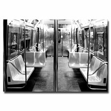 "<strong>Trademark Fine Art</strong> ""Subway Car"" Canvas Art"