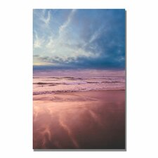 "<strong>Trademark Fine Art</strong> ""Beach Reflections II"" Canvas Art"