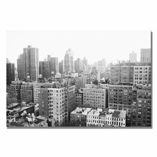 "<strong>Trademark Fine Art</strong> ""City II"" Canvas Art"