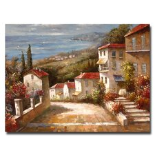 """Home in Tuscany"" by Joval Painting Print on Canvas"