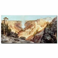 """The Grand Canyon of Yellowstone, 1872"" Canvas Art"