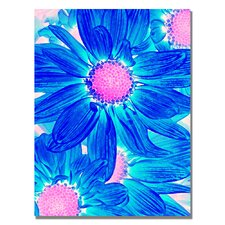 "<strong>Trademark Fine Art</strong> ""Pop Daisies VII"" Canvas Art"