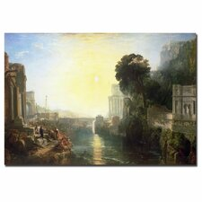 "<strong>Trademark Fine Art</strong> ""Dido Building Carthage"" Canvas Art"