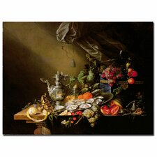 "<strong>Trademark Fine Art</strong> ""Banquet Still Life"" Canvas Art"